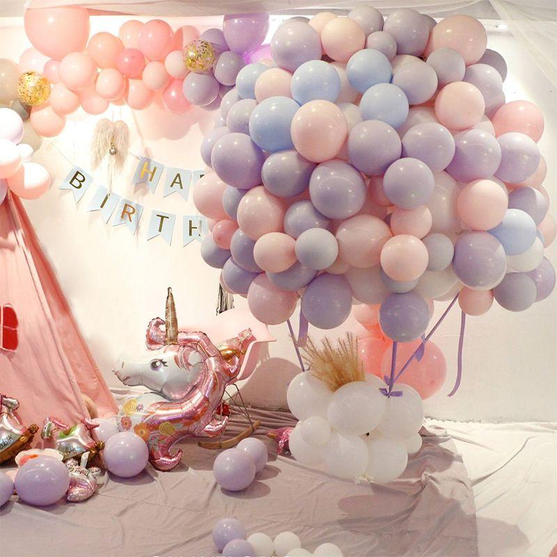 100pcs 10inch Latex Balloons Macaron Color Wedding Birthday Party Graduation 2019 Helium Baloon Anniversaire Decor Ballon balony