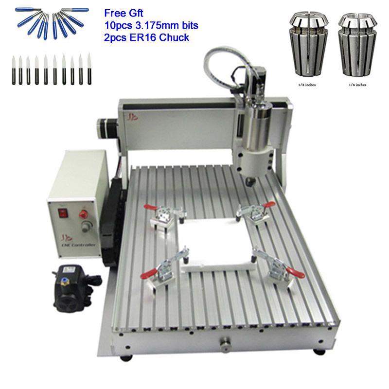 China 6090 CNC Router Stecher USB Endschalter 2.2KW Wasser Kühlung Spindel Holzbearbeitung Maschine