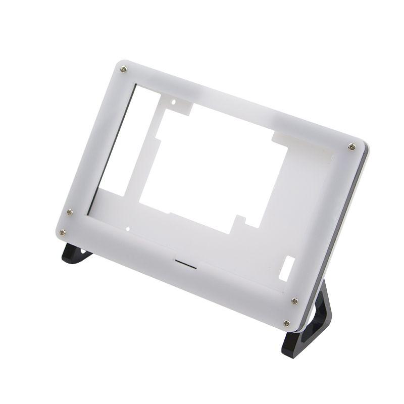 Raspberry Pi 3 Modèle B 5 Pouce Framboise Pi LCD Acrylique Support Cas Noir Et Blanc Support Fixe