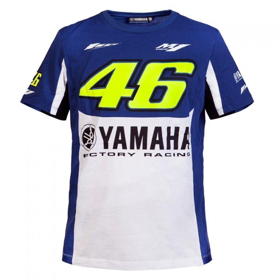 free shipping 2017 NEW Valentino Rossi VR46 For yamaha m1 Moto GP Monza Rally Replica T-shirt Black Summer Team Racing T shirt