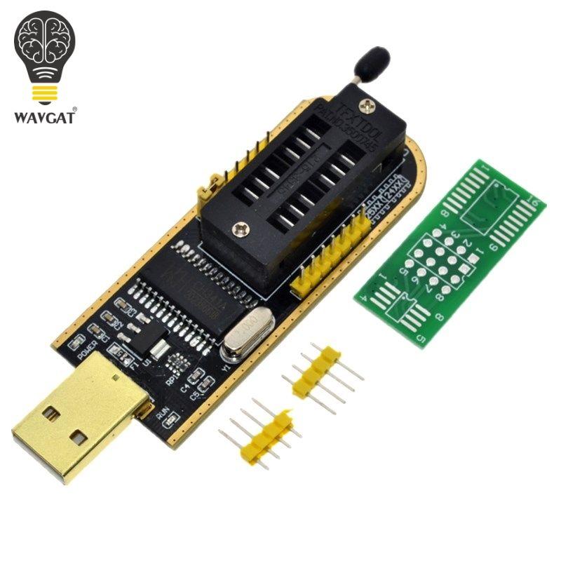 CH341A CH341 24 25 Serie EEPROM-Flash-BIOS-USB Programmierer mit Software & Fahrer