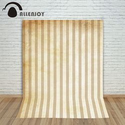 Hromakey Photography background Brown vertical stripes wall baby boy fabric Allenjoy backdrops
