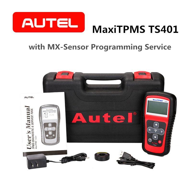 Autel MaxiTPMS TS401 TPMS Diagnose Service Tool Pre-auswahl prozess bieten schneller Aktivierung mit 315 mhz 433 mhz Mx -Sensor