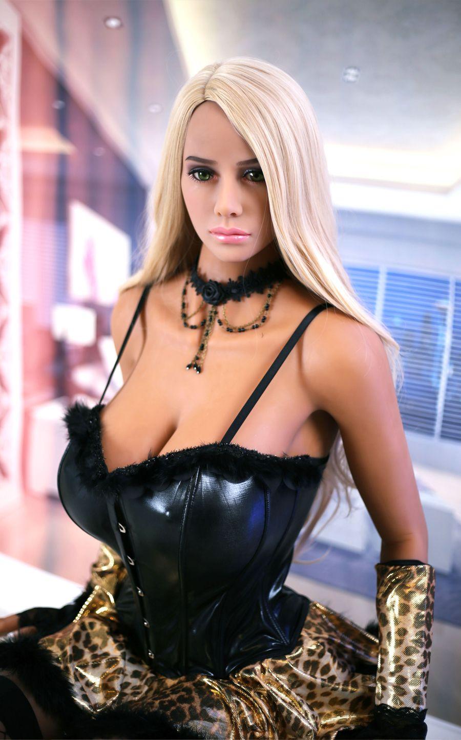 EU lager 158 cm Volle Größe der männer realistische sex puppe Lebensechte Europa blond Grün augen LIEBE puppe Voller Skelett und TPE