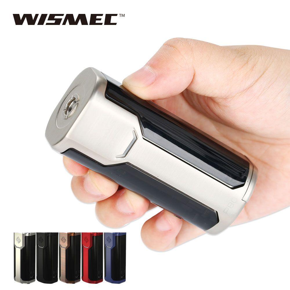 Original 80W WISMEC SINUOUS P80 TC MOD Max 80W Box Mod 510 Thread E-cigarette Mod Powered By 18650 Battery Vape Mod vs Rx200s