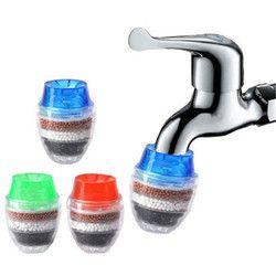 Household Kitchen Mini Carbon Faucet Tap Water Purifier Filter Filtration Cartridge
