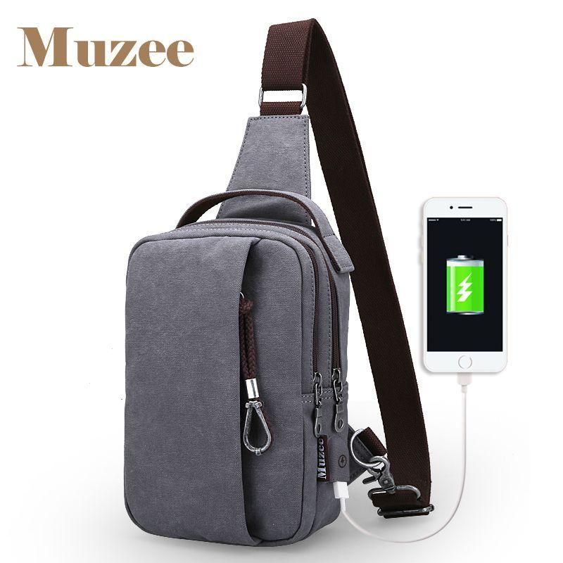 Muzee 2017 USB Design Sling Bag Wallet Gift Large Capacity Handbag Hot-Selling Crossbody Bag Drop shipping Bags