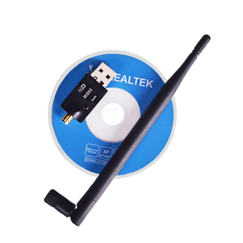 NEW Wireless Wifi Adapter 5dB Wifi Antenna 300Mbps wi fi USB Wireless Network Card 802.11n/b/g PC Computer Wifi Receiver