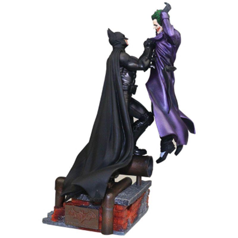 Avengers: Unendlichkeit Krieg Batman VS Die Joker Schlacht Szenen Statue Dekoration PVC Action Figure Sammlung Modell Spielzeug X35