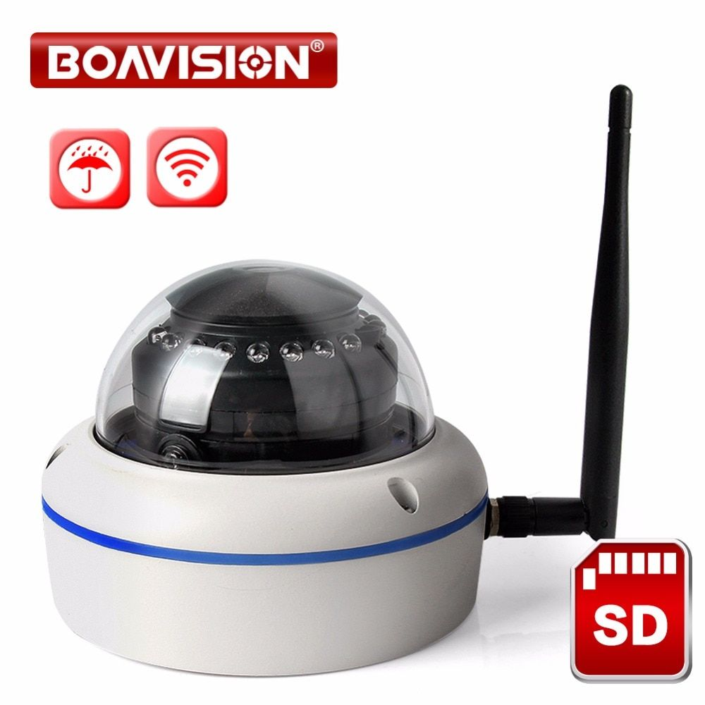 1MP 2.0MP WIFI IP Camera Outdoor 1080P TF Card Slot 720P Security Wireless Cameras Onvif CCTV Wi-Fi Cam APP CamHi P2P Cloud View