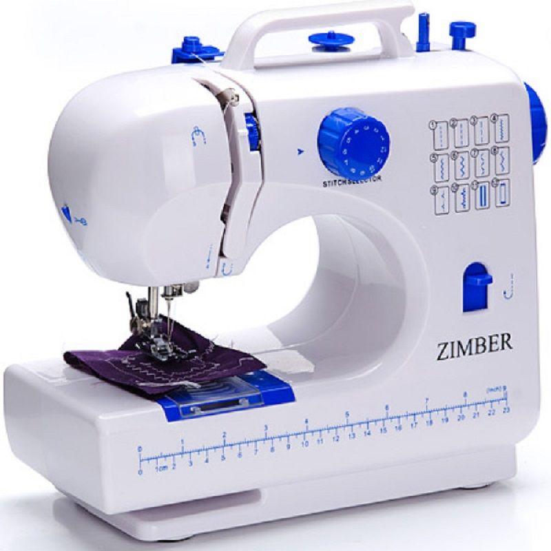 Швейная машина ZIMBER, 2 скорости, 2 винта