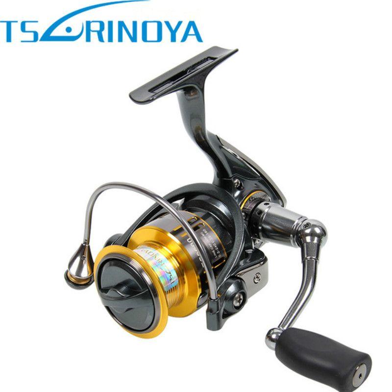 Tsurinoya fs2000 spinning angelrolle 10bb 5,2: 1 metall spool karpfen spule für trolle carretilhas de pescaria molinete para pesca