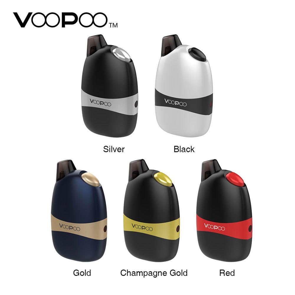 Kit de dosette d'origine VOOPOO Panda AIO avec batterie 1100 mAh et système de dosette E-cigarette tout-en-un 5 ml/2 ml