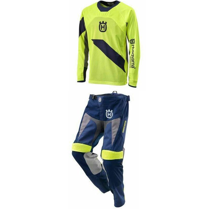 SHOR Motocross Dirt Bike Pants+Jersey Combos MX Racing Suit Cross-Country MTB Jersey ATV Pants Motorcycle Sets Moto Kit