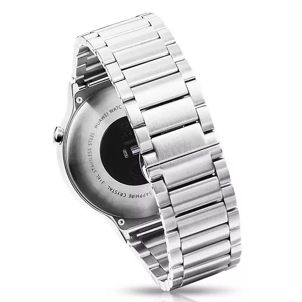 Нержавеющаясталь 18 мм часы ремешок заменить Для мужчин t для Huawei часы 1 Для мужчин наручные ремень металлические цепи группа i67.