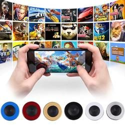 Cewaal Universial Round Game Rocker Joysticks TPU Controller Touch Screen Rocker For iPhone/Pads/xiao mi/Samsung Smart Phones