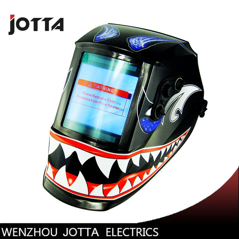 Li Battery+Solar auto darkening welding helmet/face mask for the MIG MAG TIG CT TSC KR welding machine and CUT plasma cutter