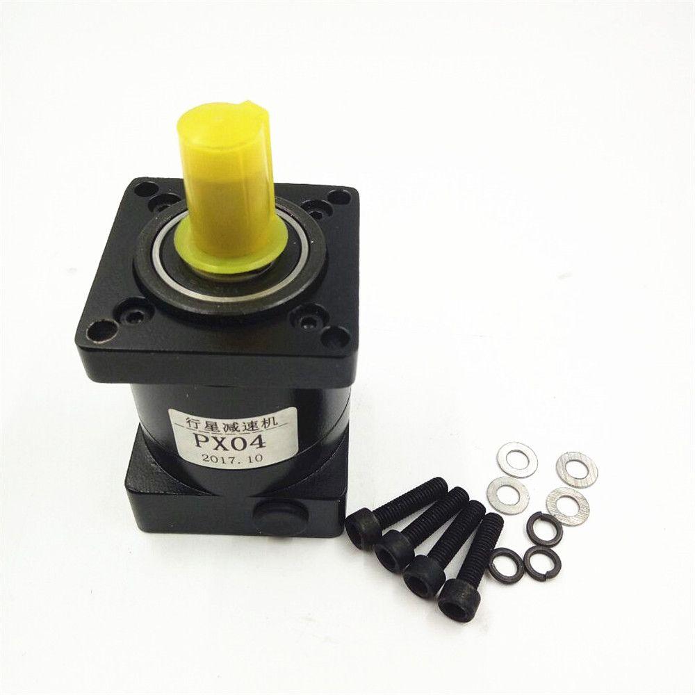 Langlebigkeit Geräuscharme Planetengetriebe Untersetzungsgetriebe für NEMA23 Schrittmotor Verhältnis 4:1/6:1 Hochpräzise Schrittmotor Minderer