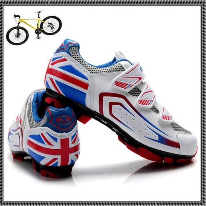 Teibao Nylon-fibreglass  Brand MTB Sports Ciclismo ShoesMTB Bike Cycle Soles Bicycle Riding Athletic Cycling Shoes for women men