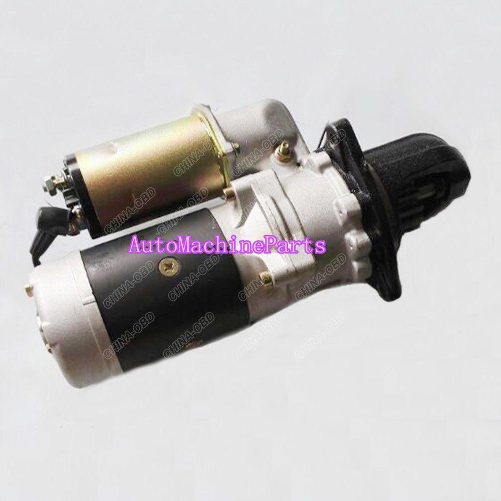 37766-20200 Starter 24V 7.5KW for Mitsubishi Nikko 0-23000-7171 S12R S16R 15T