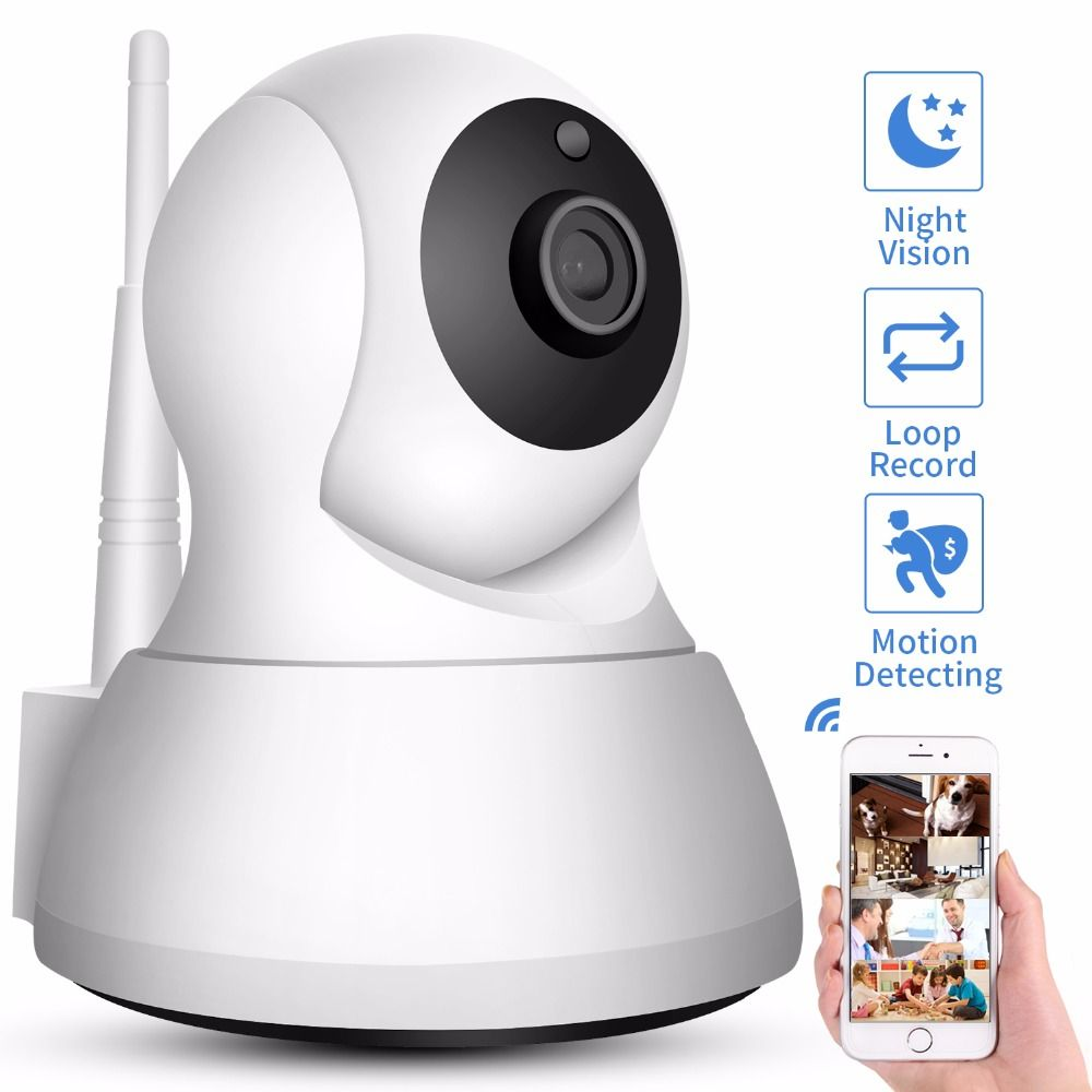 SDETER Home Security IP Camera Wi-Fi 1080P <font><b>720P</b></font> Wireless Network Camera CCTV Camera Surveillance P2P Night Vision Baby Monitor