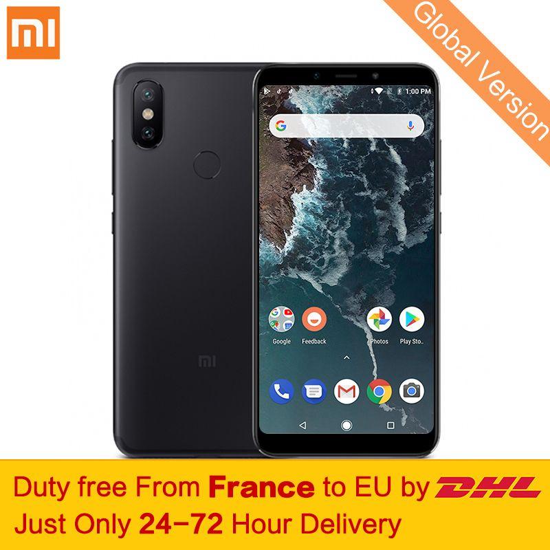 Free tax! Global Version Xiaomi Mi A2 4GB 64GB Mobile Phone Snapdragon 660 Octa Core 20MP AI Dual Cameras 5.99