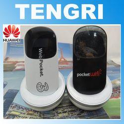 Dibuka 7.2 Mbps Huawei E585 Wifi Modem Nirkabel 3G HSDPA Mobile Hotspot 3G Router