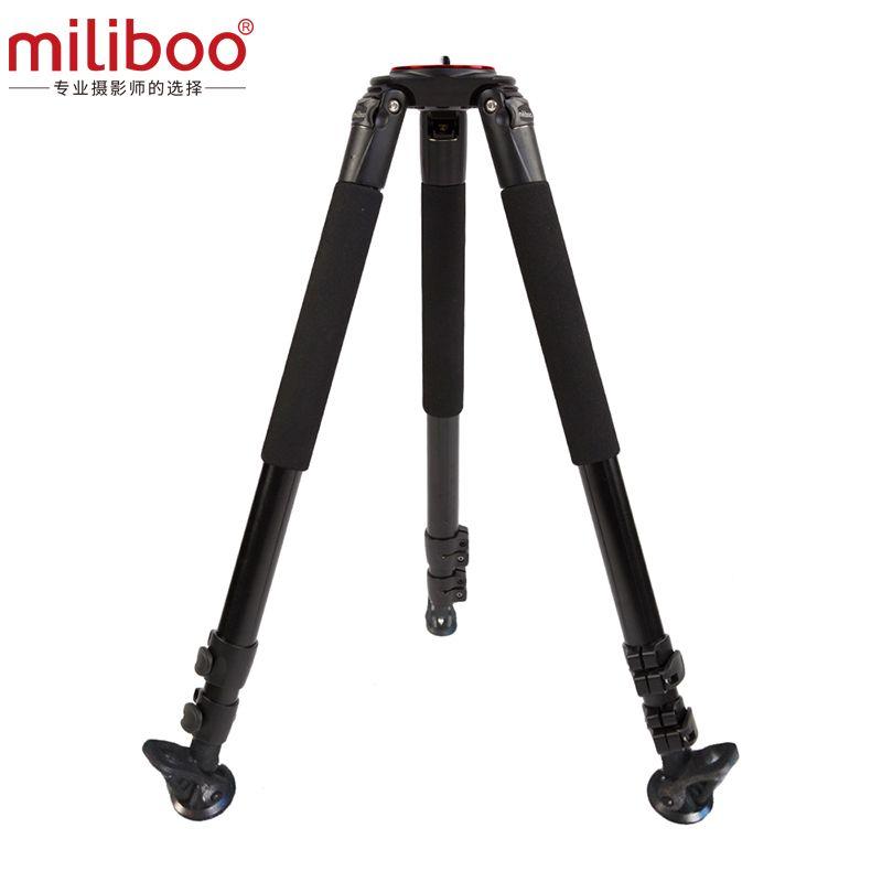 miliboo MTT703A Professional Portable Aluminum Camera Tripod for DSLR / Video/Camcorder Stand Video Tripod Load 25 kg Max