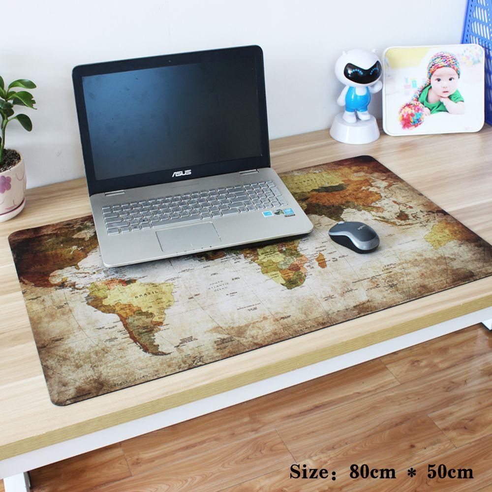 Pbpad shop 2017 neue heiße kleine und große Super Weltkarte büro gaming mauspad Speed Computer laptop Mauspad Tabelle Matte