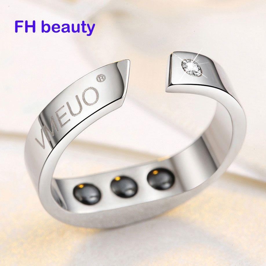 4 tailles Anti ronflement anneau thérapie magnétique traitement d'acupression contre ronflement dispositif bouchon Anti ronflement anneau de doigt aide au sommeil