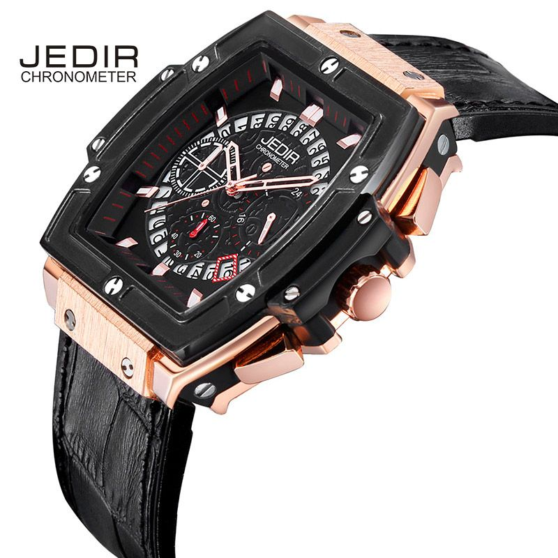 Mens Watches Top Brand Luxury Watch Men Sport Watch Pirate Hollow Leather Luminous Fashion Wrist Quartz Watch Relogio Masculino