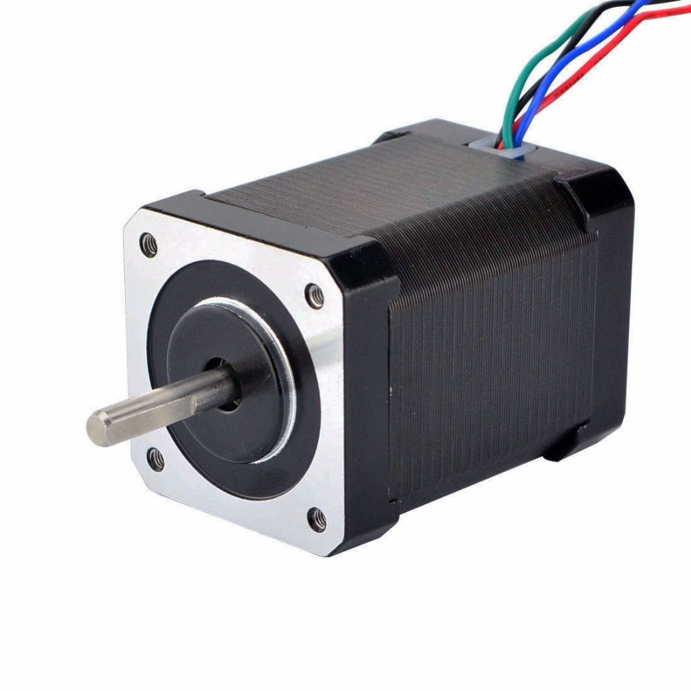 Nema 17 Stepper Motor Bipolar 1.8deg 60Ncm (85oz.in) 0.64A 10V 42x42x60mm 4 Wires