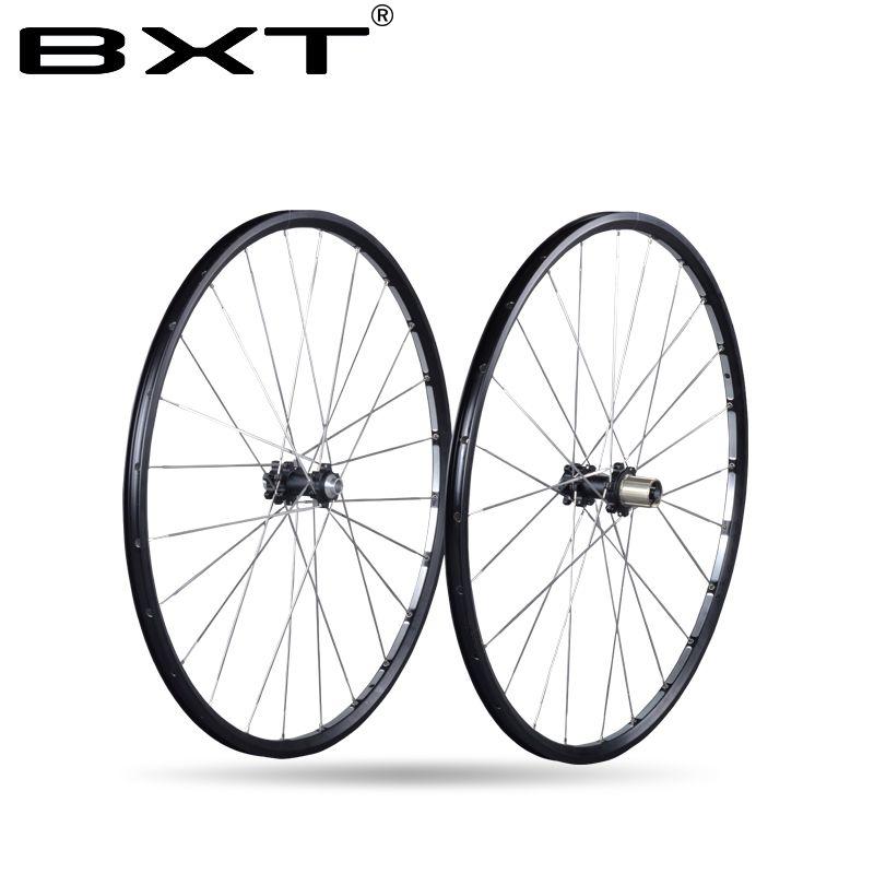 2018 achse 142*12mm MTB Mountainbike 27.5er 29er Sechs Löcher Disc bremse fahrrad Rad CR 24 H 11 Geschwindigkeit Unterstützung Felge Laufradsatz
