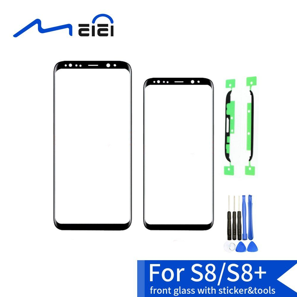 OEM LCD Front Touch Screen Panel Outer Glass Lens For Samsung Galaxy S8 G950F G950U S8 Plus G955F G955U Replacement
