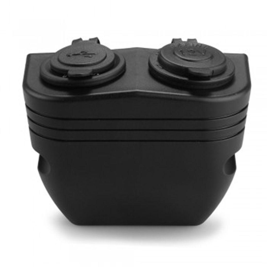 Dewtreetali Dual USB Auto Car Cigarette Lighter Socket Splitter Charger Port 12V