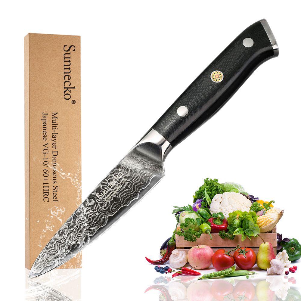 Couteau de tranchage de fruits SUNNECKO 3.5