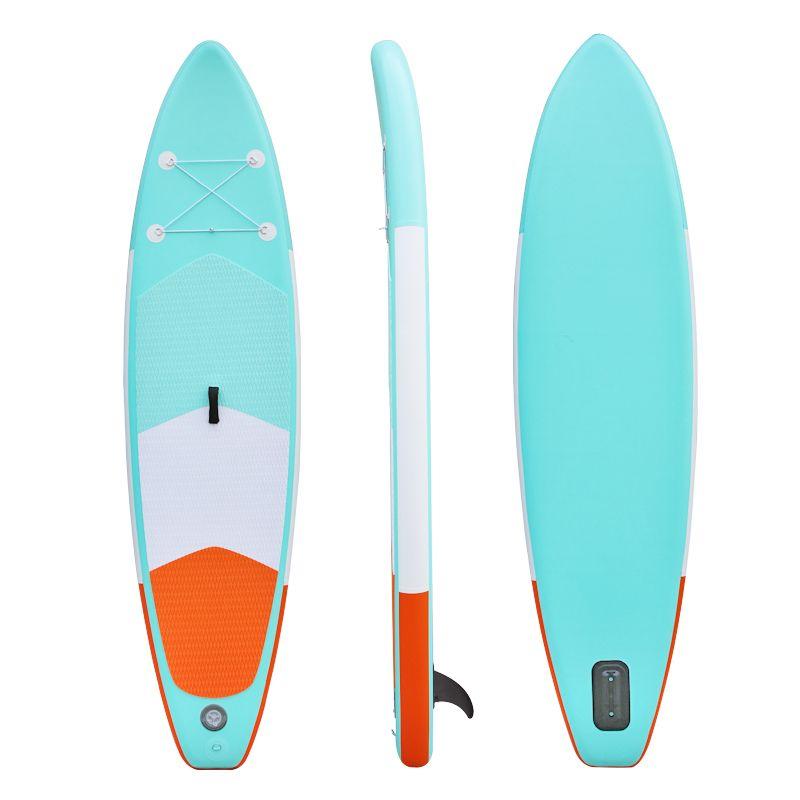 Heytur neue design Aqua farbe Aufblasbare SUP Stand up Paddle Board iSUP Aufblasbare Paddle Board