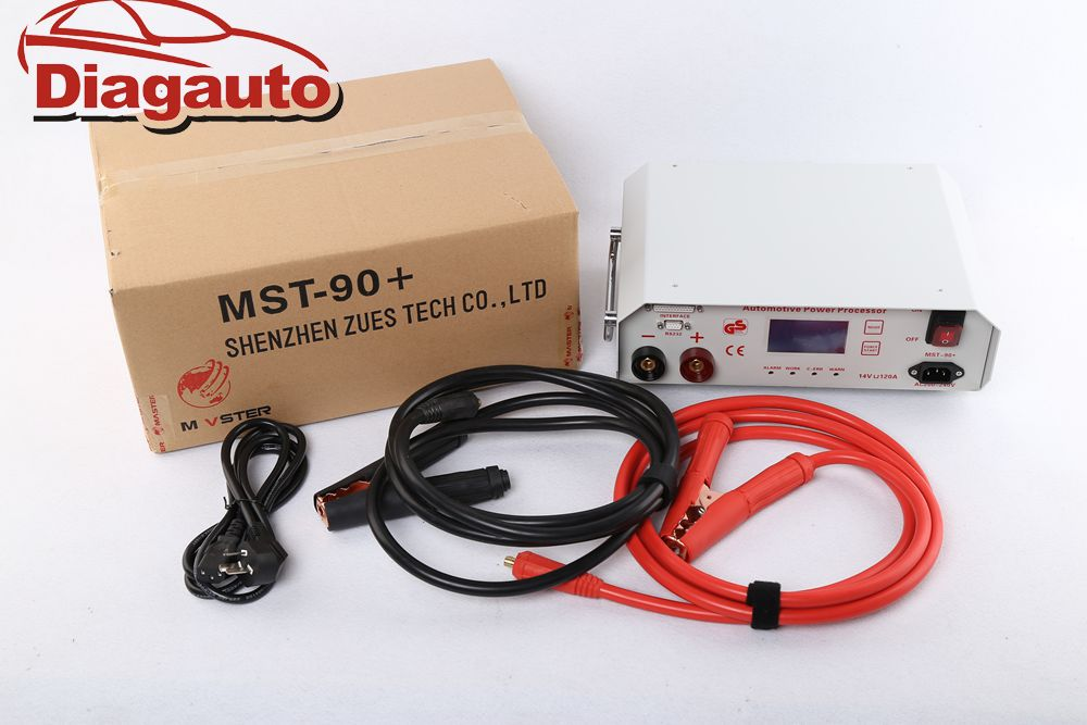 2018 MST-90+ for bmw ICOM coding/programming power stabilizer car battery voltage regulator stabilizer