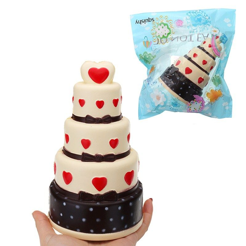 Newest for Squishy Cake 11*18 CM Super Slow Rising Cream Scented Original Package Phone Strap With Packaging Best Kid Gift
