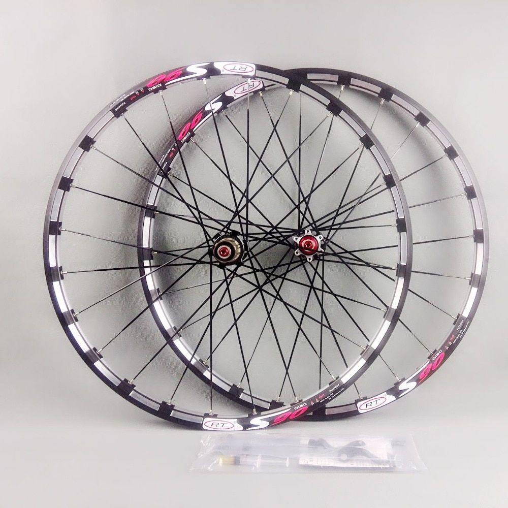 2017 newest mountain bike bicycle Milling trilateral RT front 2 rear 5 bearing japan hub super smooth wheel wheelset Rim
