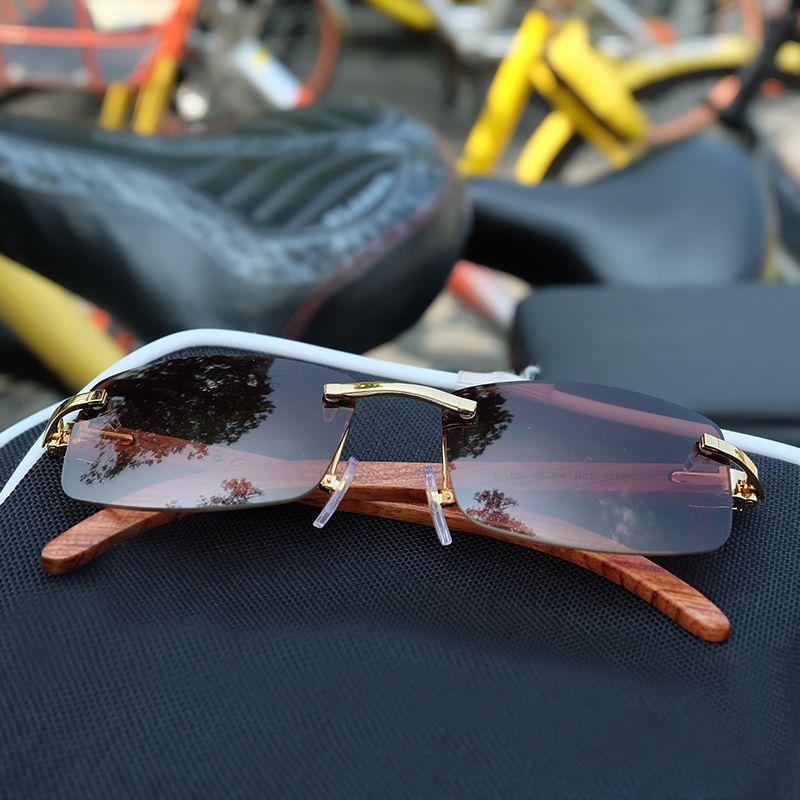 Holz sonnenbrille männer rahmen carter gläser männer holz shades rahmen goldene marke designer carter sonnenbrille 2018 sonne glas 012