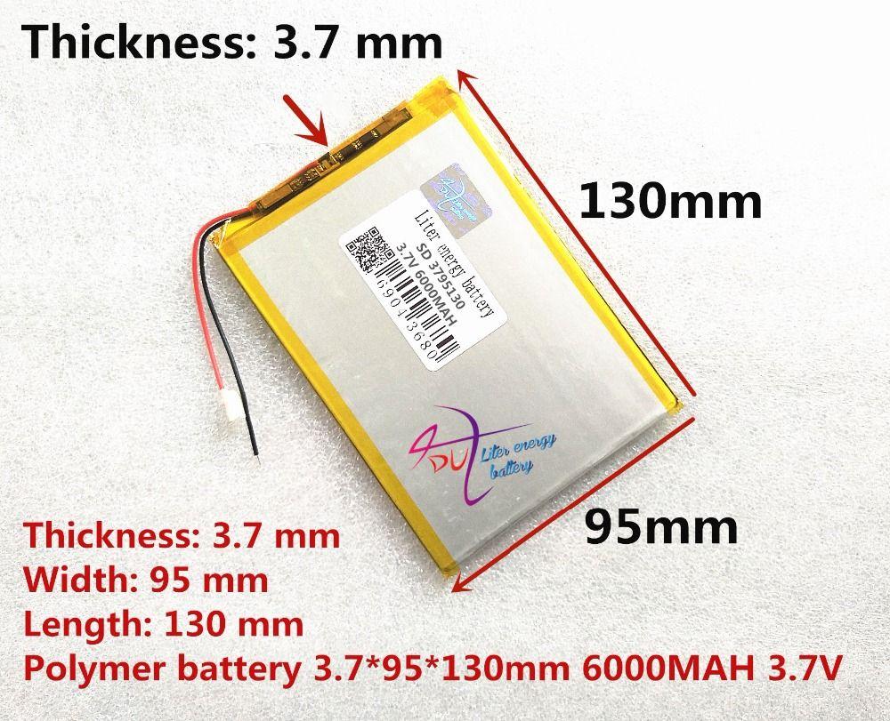 Grande capacité 3.7 V batterie de la tablette 6000 mah chaque marque tablet universel rechargeable batteries au lithium 3795130