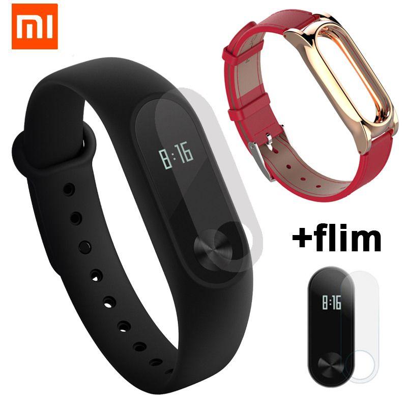 Mondial D'origine Xiaomi Mi Band 2 Avec Passomètre Traqueur D'activité Xaomi Bracelet Intelligent Montre de Fitness Pour Xiaomi Miband2 Miband 2