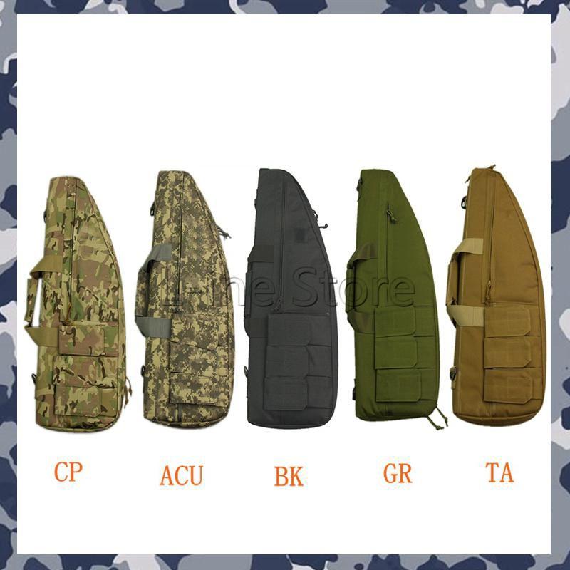 70 cm Tactical Rifle Tasche Jagd Schießen Airsoft Pistole Tasche Fall Mit 3 Magazin Beutel 5 Farben