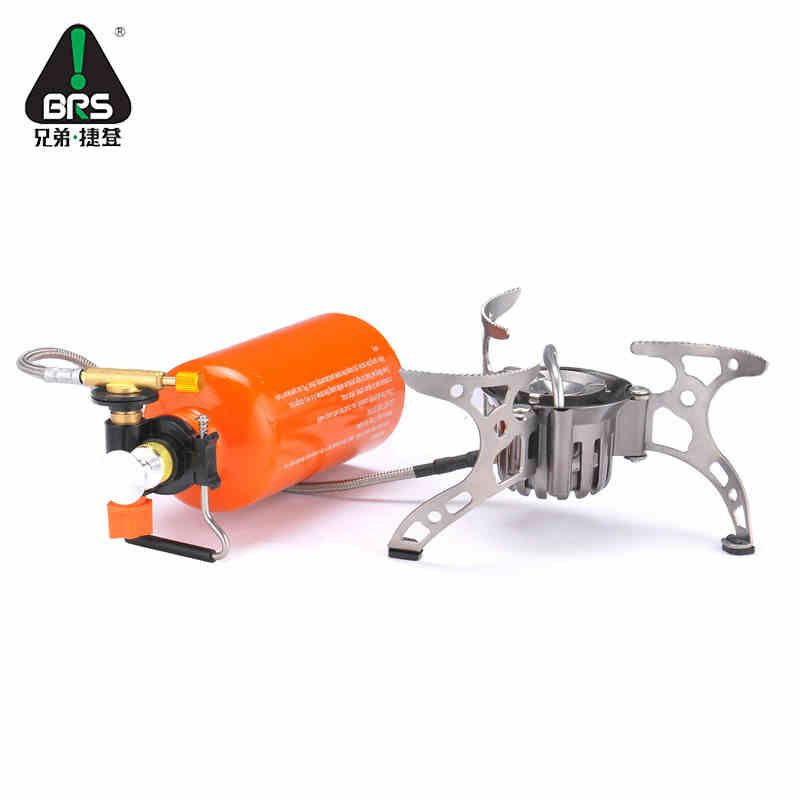 BRS Portable Multi Fuel Outdoor Backpacking Picnic Camping Stove Oil Gas Gasoline Furnace brs-8