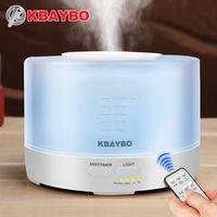 KBAYBO 500 мл дистанционное управление Ароматизатор воздуха ультразвуковой увлажнитель с светодио дный цвет светодиодные фонари электрическа...