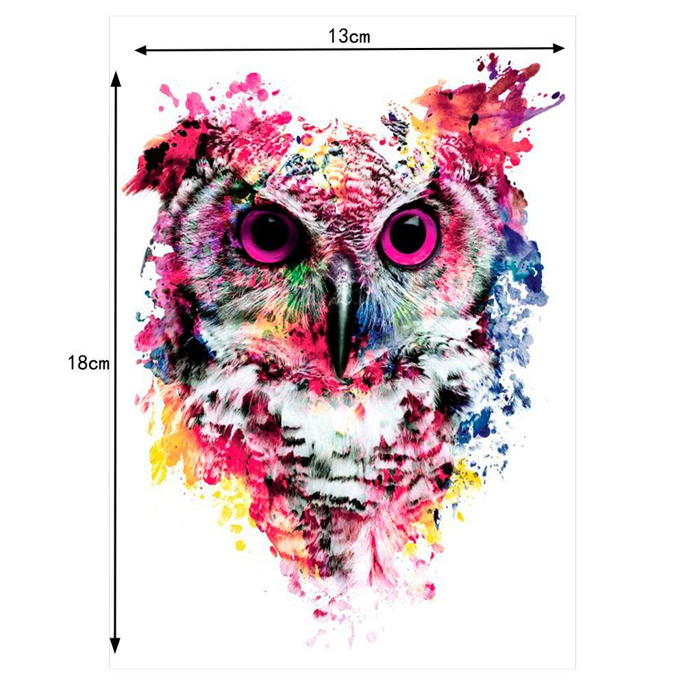 2 цвета Прекрасный Простыни красочные Средства ухода за кожей Книги по искусству Catoon Рисование Временные татуировки Для женщин Для Мужчин С...