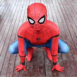 Marvel Legends Spiderman Homecoming Suit 2099 Adult Spiderman Costume Kids Child Spider Man Mask Birthday Party Cosplay Clothing