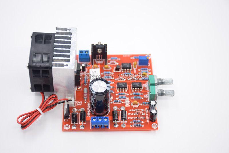 3in1 Free Shipping 0-30V 2mA - 3A Adjustable DC Regulated Power Supply DIY Kit + Radiator Aluminum Heatsink+Cooling Fan