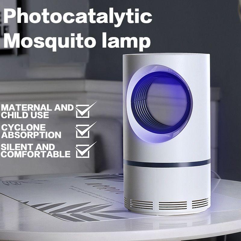Moustique tueur Anti électrique moustique tueur lampe USB insecte tueur Bug Zapper photocatalyseur répulsif moustique piège extérieur